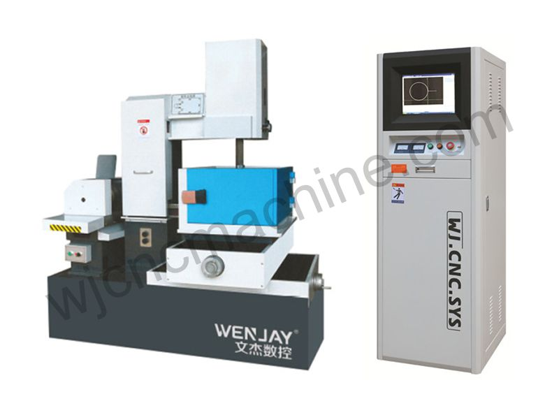 Precise Medium-Speed Wire-Moving Linear Cutting Machine Tool