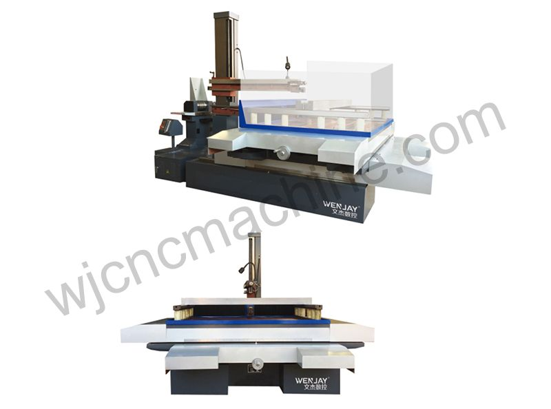 DK77100 CNC electric spark wire cutting machine tool(super machine tool)
